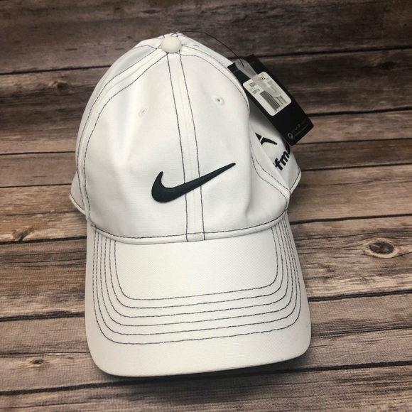 eb468dc3e4f Nike golf hat Hoffman company white baseball cap